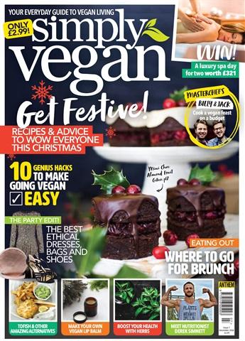 Simply Vegan issue Dec 2018