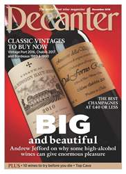 Decanter issue December 2018