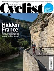 Cyclist issue December 2018