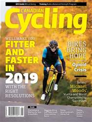 Canadian Cycling Magazine issue Volume 9 Issue 6