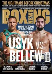 Boxing News issue 06/11/2018
