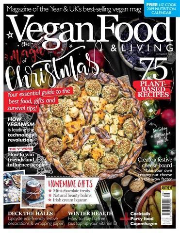 Vegan Food & Living Magazine issue Dec 2018