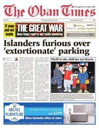 The Oban Times & Lochaber Times issue 8th November 2018
