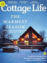 Cottage Life issue WINTER 2018