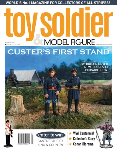 Toy Soldier & Model Figure Preview
