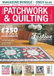 Patchwork and Quilting issue Dec-18