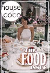 House of Coco issue Vol 13 The Food Issue