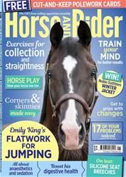 Horse&Rider Magazine - UK equestrian magazine for Horse and Rider Magazine Cover