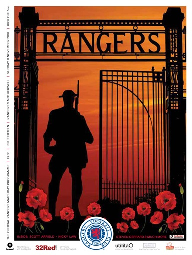 Rangers Football Club Matchday Programme Digital Issue