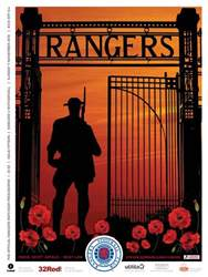 Rangers Football Club Matchday Programme issue Rangers v Motherwell