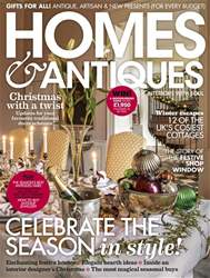 Homes & Antiques Magazine issue December 2018