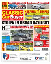 Classic Car Buyer issue 14th November 2018