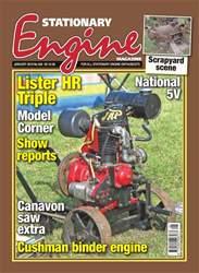 Stationary Engine issue Stationary Engine