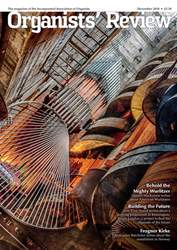 Organists' Review issue December 2018