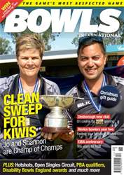 Bowls International Magazine Cover