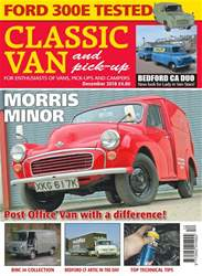 Classic Van & Pick-up issue December 2018