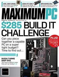 Maximum PC issue December 2018