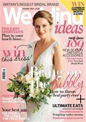 Wedding Ideas magazine issue January 2019