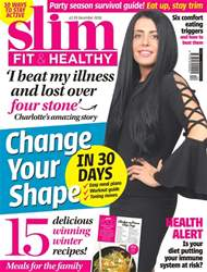 Slim Fit & Healthy Magazine Cover