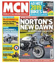 MCN issue 14th November 2018