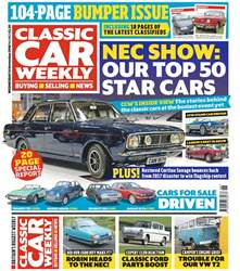 Classic Car Weekly issue 14th November 2018