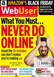 Webuser Magazine Cover