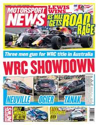 Motorsport News issue 14th November 2018