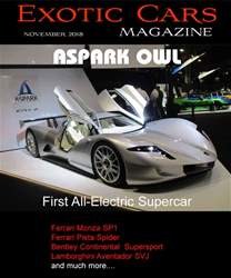 Exotic Cars Magazine issue November 2018