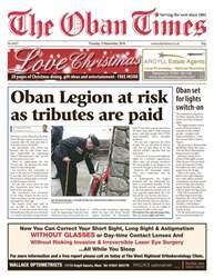 The Oban Times & Lochaber Times issue 15 November 2018