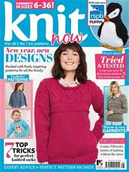 Knit Now Magazine Cover