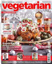 Vegetarian Living Magazine Cover