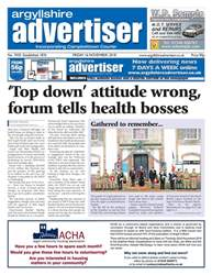Argyllshire Advertiser issue 16/11/18