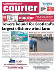 Campbeltown Courier issue 16/11/18