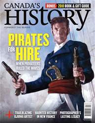 Canada's History issue Dec18/Jan19