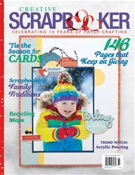 Creative Scrapbooker issue Winter 2018/19