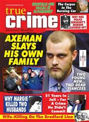 True Crime issue True Crime December 2018