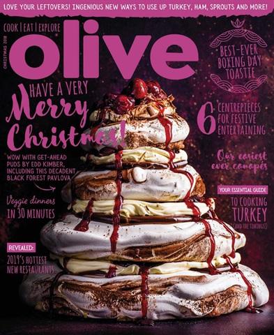 Olive Magazine issue Christmas 2018