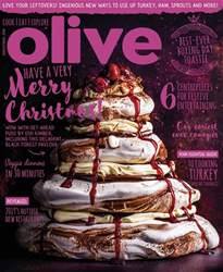 Olive Magazine issue Christmas 2018
