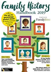 Family History Handbook 2019 issue Family History Handbook 2019