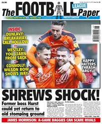The Football League Paper issue 18th November 2018