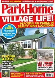 Park Home & Holiday Caravan Magazine Cover