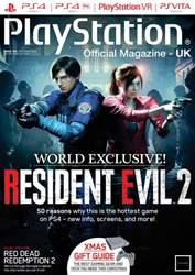 Playstation Official Magazine (UK Edition) issue Christmas 2018