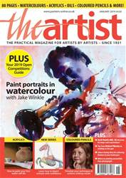 The Artist Magazine Cover