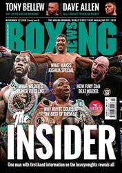 Boxing News issue 20/11/2018
