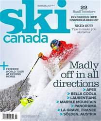 Ski Canada Magazine Cover
