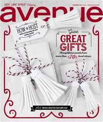 Avenue Calgary Magazine Cover