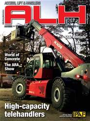 Access, Lift & Handlers Magazine Cover