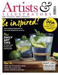 Artists & Illustrators Magazine Cover