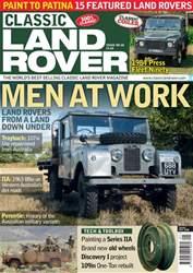 Classic Land Rover Magazine Magazine Cover