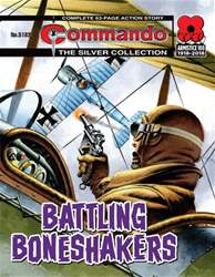 Commando Magazine Cover